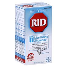 We believe the OTC #lice killing shampoos are a reasonably safe and effective treatment option for most people.
