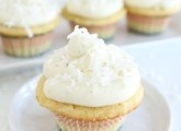 """Coconut Lime Cupcakes"" from @Maria (Two Peas and Their Pod)"
