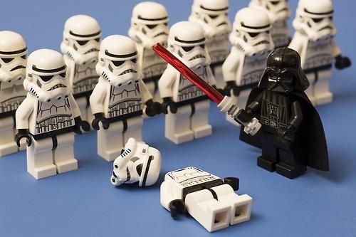 Darth Vader kill Stormtroopers