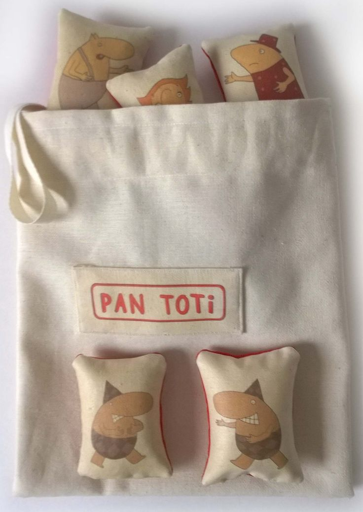 """Worek z poduszeczkami do zabawy. """"Kolekcja Pan Toti"""" Kolorowanki, poduszki, przytulanki, układanki """"Kolekcja Pan Toti""""  https://www.facebook.com/kolekcjaPanToti/?fref=photo"""