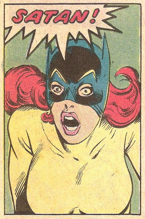 superdames:  Guess who? the-spinner-rack:  SATAN!(by Don...