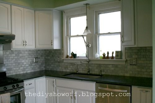 kitchen cabinets grey diy show home improvements farmhouse kitchens and 3005
