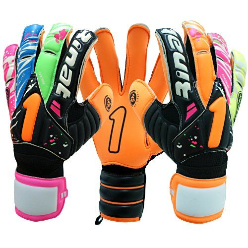 Rinat Asimetrik Duo Spine Soccer Goalie Gloves $110.00