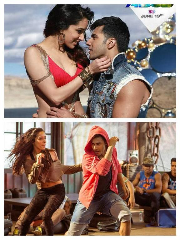 Watch: Varun and Shraddha in 'Sun Saathiya' from 'ABCD2. I AM CRAZZZYYYY ABOUT THIS SONG AND THE DANCE IS SOOOO COOL I WATCH IT LIKE NON STOP AND ITS SO FRICKEN AWESOME!!! WATCH THE VIDEO IF YOU WANT TO THE AMAZING DANCE AND THE SONG!!