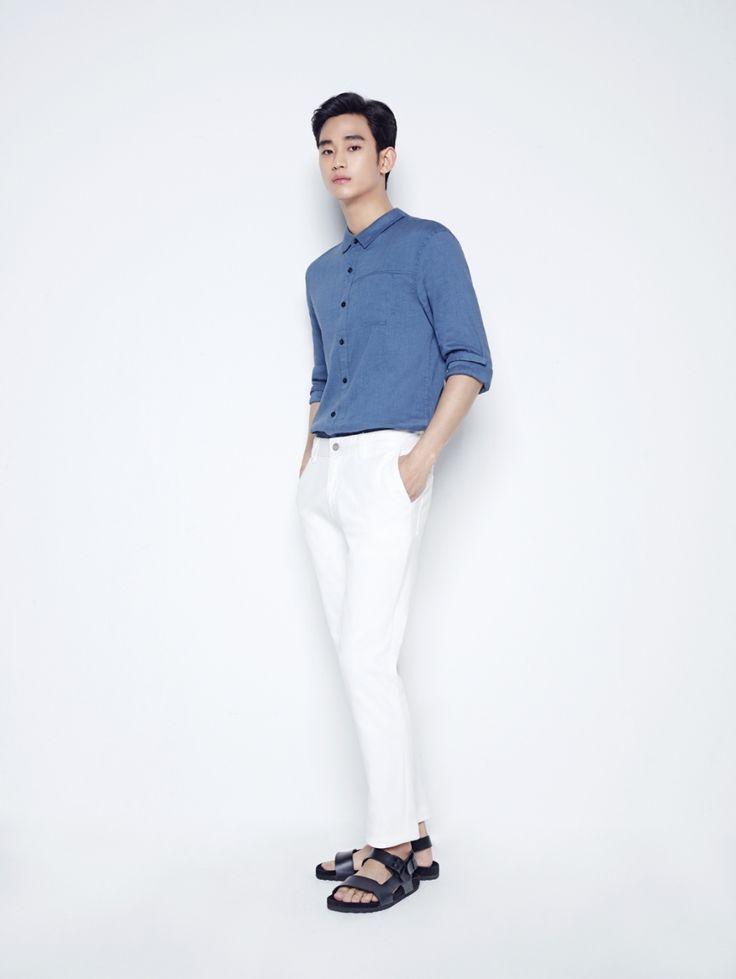 [잇아이템] 김수현 푹푹 찌는 폭염에 어울리는 셔츠 스타일링 #topstarnews
