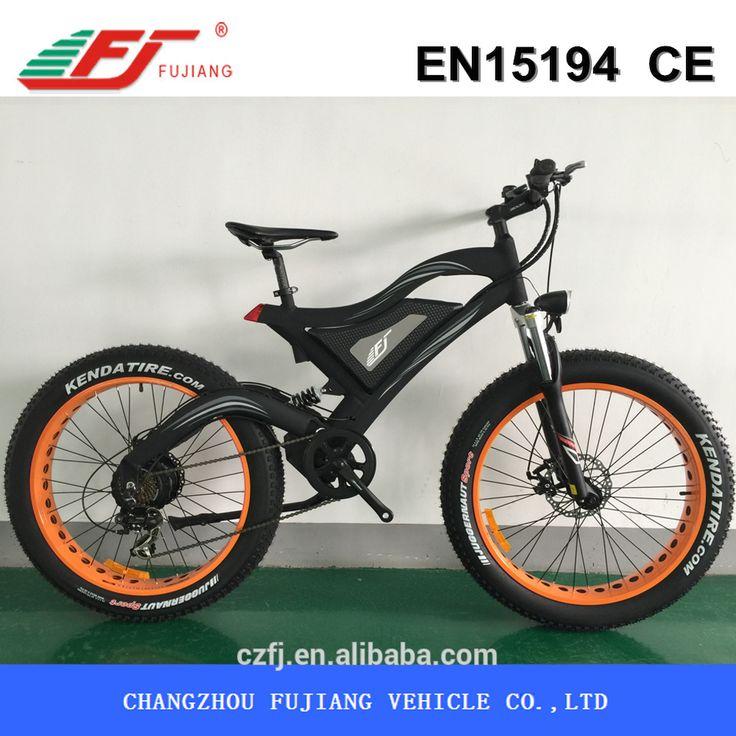 500W electric bike, electric bike kit, fat mountain bikes electric, View electric fat bike, FUJIANG Product Details from Changzhou Fujiang Vehicle Co., Ltd. on Alibaba.com