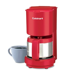 4-Cup Coffeemaker Red now featured on Fab.