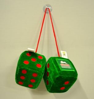 Rabbitohs fluffy dice