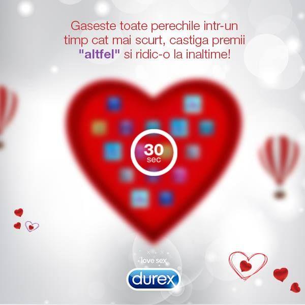 http://bit.ly/DeCeSaNuDaruiestiCevaDiferit  30 de secunde pot avea un final fericit! Intra in aplicatie, gaseste perechile, inscrie bonul si te poti pregati de o calatorie cu balonul alaturi de persoana iubita! Accepti provocarea?