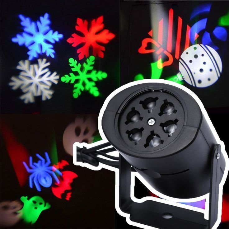 Holiday Lights Halloween Christmas Valentines Day Laser Led Projector Lamps Outd