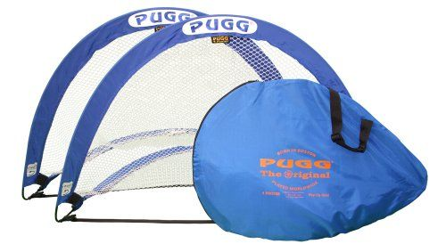PUGG 4 Footer Portable Training Goal Boxed Set (Two Goals & Bag) - http://weloveourpugs.net/?product=pugg-4-footer-portable-training-goal-boxed-set-two-goals-bag