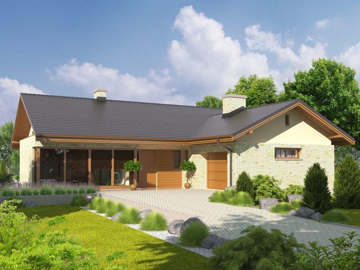 Projekt domu AC Alberta G1 - DOM AF1-25 - gotowy projekt domu