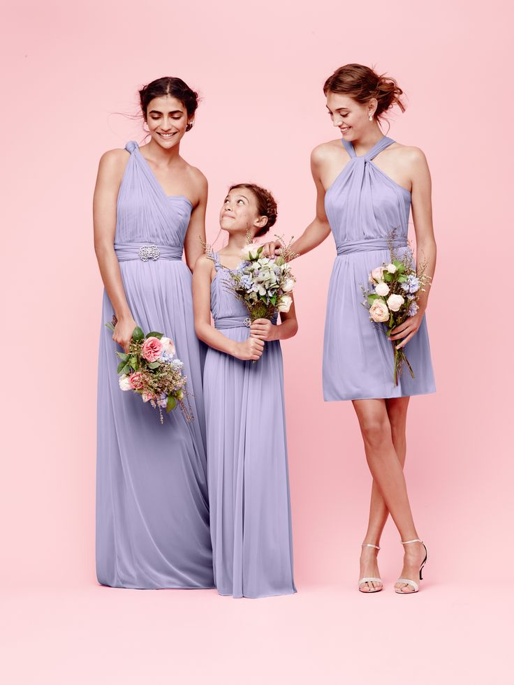 Buy bridesmaid dresses same color different style dresses