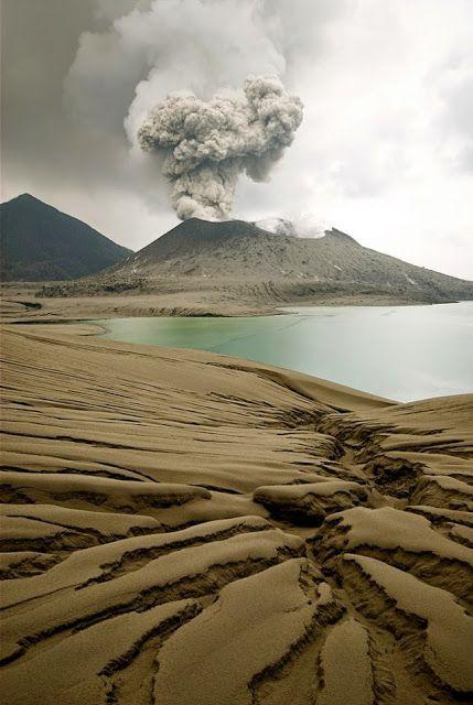 Tavurvur Volcano, Papua New Guinea