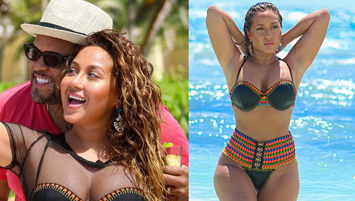 Adrienne Bailon -- I'm Born Again in Mexico!!! (PHOTOS)