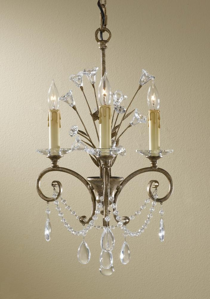 12 best images about mini chandeliers small spaces on - Small crystal chandelier for bathroom ...