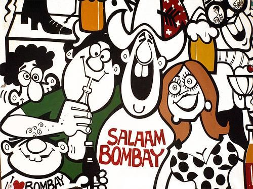 Something that brightens up any wall. Just so happy. Mario Miranda. Visitors to Cafe Mondegar in Mumbai will agree.