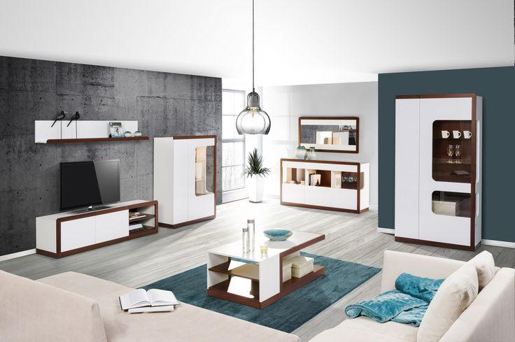 Czego chcieć więcej? Idealny relaks w salonie z kolekcji Malta #meble #salon #zainspirujsie #inspiracja #szynaka #inspiration #livingroom