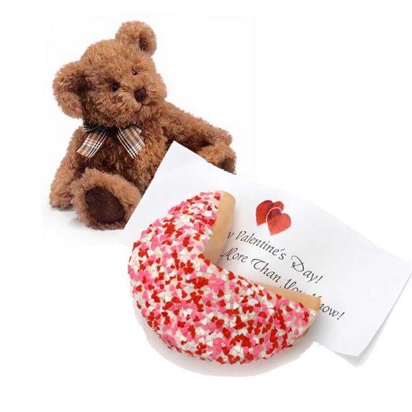 valentine's day vanilla bean cookies