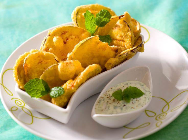Beignets d'aubergines à l'indienne, facile et pas cher