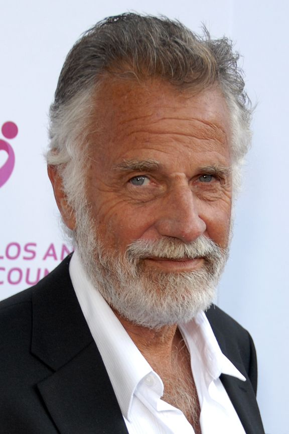 Jonathan Goldsmith, The Most Interesting Man in the World. Stay thirsty my friends...