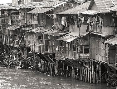 De zeer onhigiënische omstandigheden in de armere landen