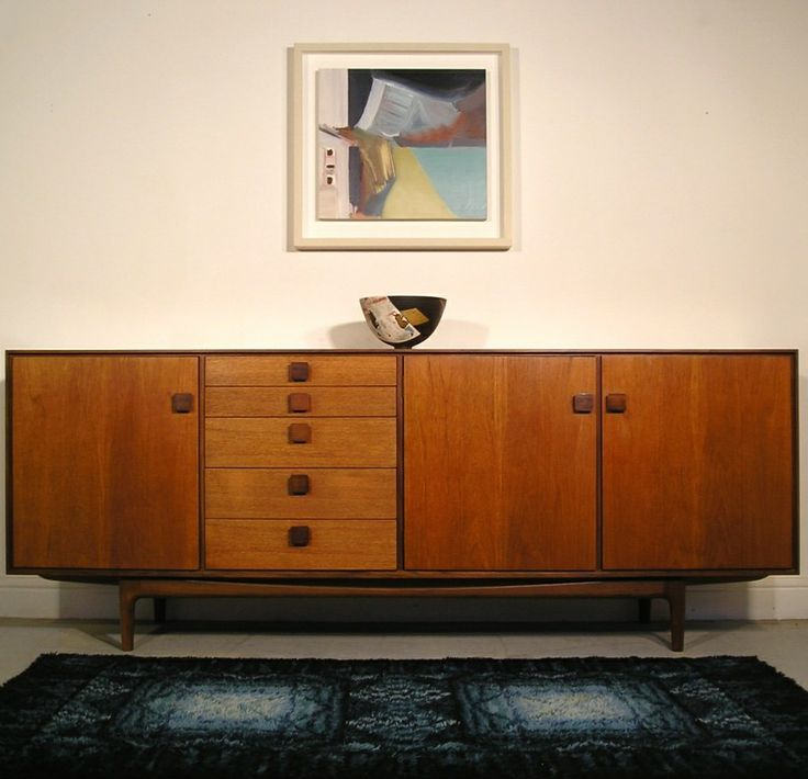 Ib Kofod-Larsen; Teak 'Danish Range' Sideboard for G-Plan, 1960s.