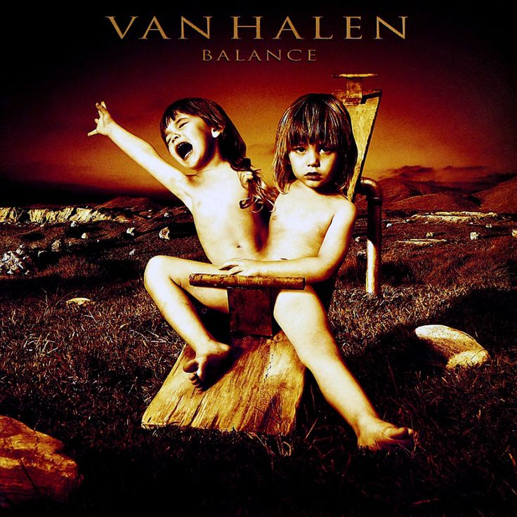 Van Halen Balance album cover by Glen Wexler | greatalbumcovers