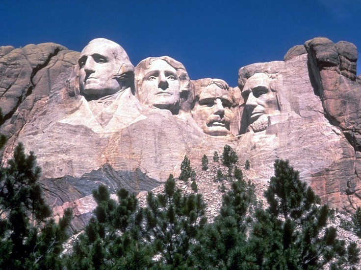 Mt. Rushmore---July 5, 2012