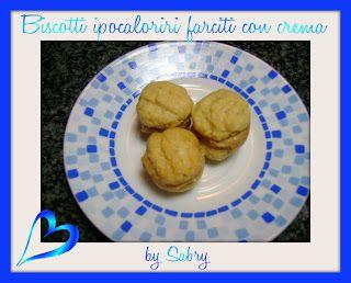 Biscotti ipocalorici farciti alla crema