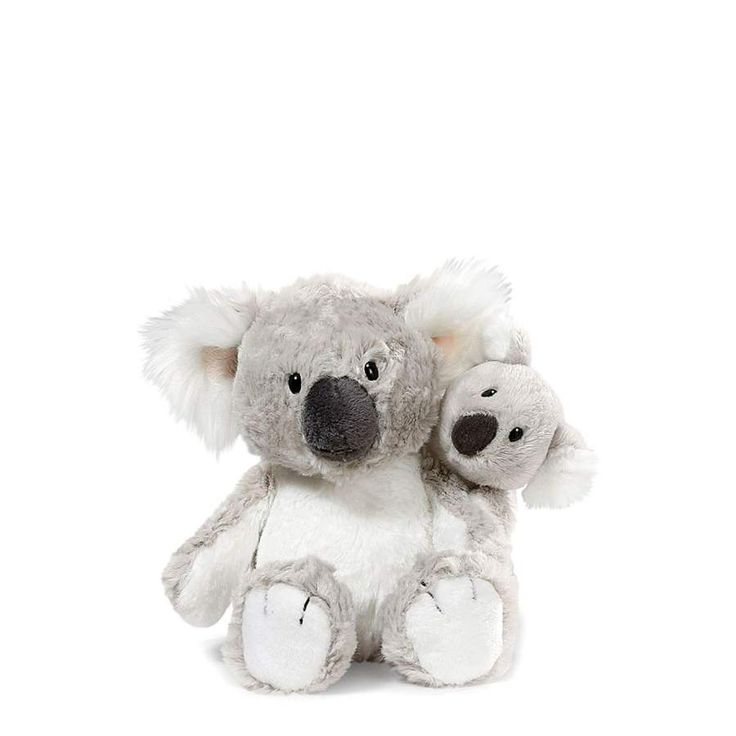 Nici peluches online. Peluche pareja de koalas de Nici. Colección Wild Friends. Suave al tacto y original diseño. Calidad en los materiales. Medidas 20x14x12 cm