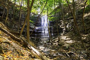 Photograph - Sherman Falls by Urbanmoon Photography
