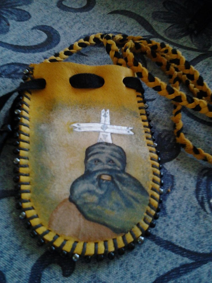 The Clown will Dance with the Ghosts Medicine Bag by earthwayspirit on Etsy