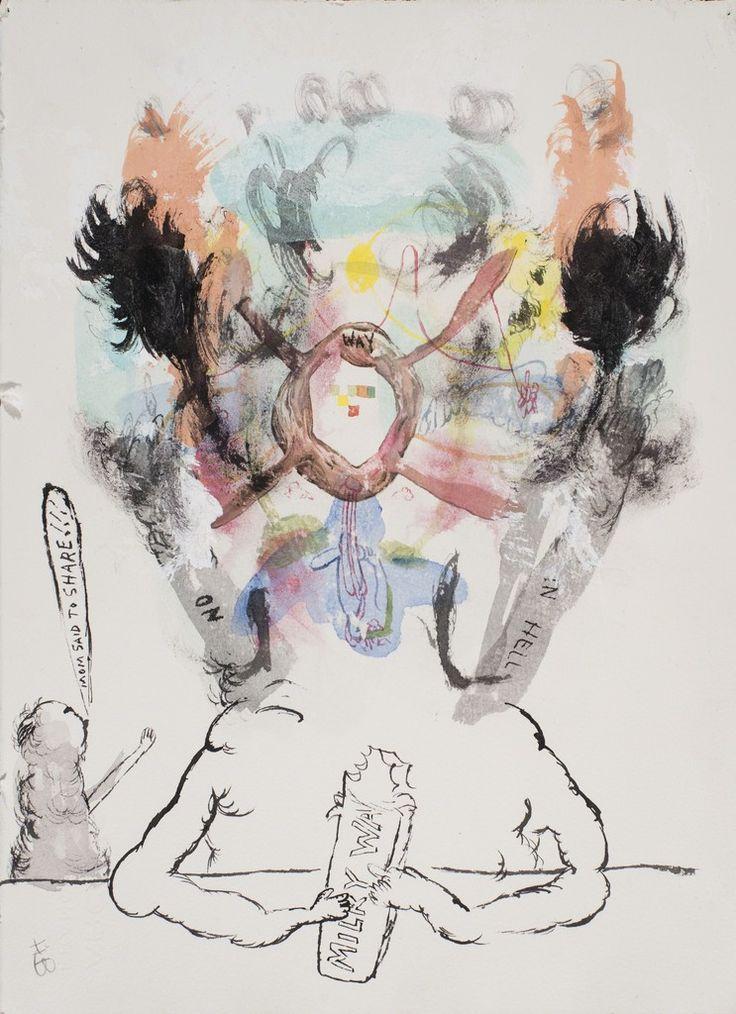 Trenton Doyle Hancock, 'Mom Said to Share,' 1998, The Studio Museum in Harlem