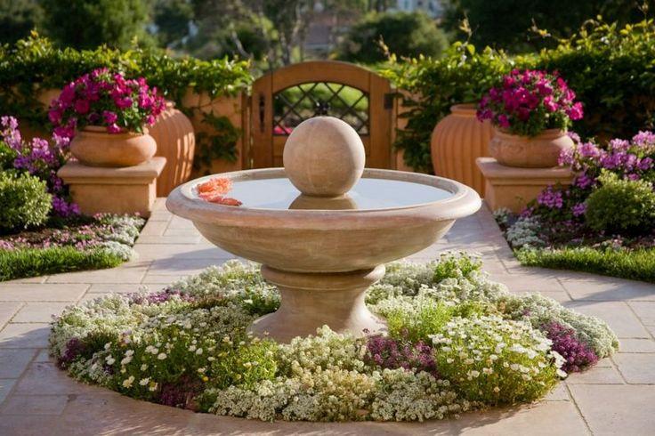 47 best FONTES DÁGUA images on Pinterest Gardening, Gardens and - brunnen garten stein