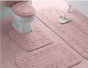 This set would be perfect for my pink bathroom!