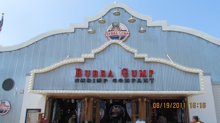 Bubba Gump on Santa Monica Pier, CA