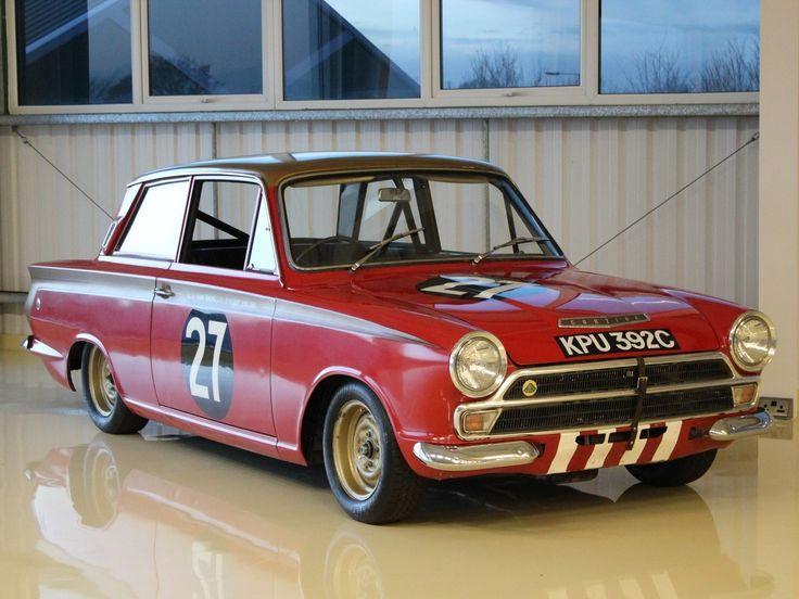 1965 lotus cortina mk i cortina mk1 alan mann racing classic driver market