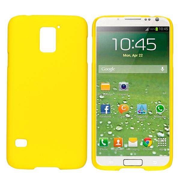 Geel hardcase hoesje voor Samsung Galaxy S5