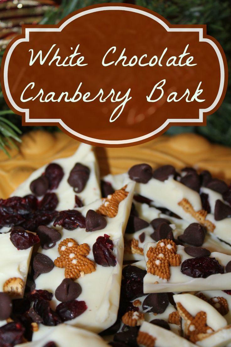 White Chocolate Cranberry Bark | Recipe | Sweet, The o'jays and White ...