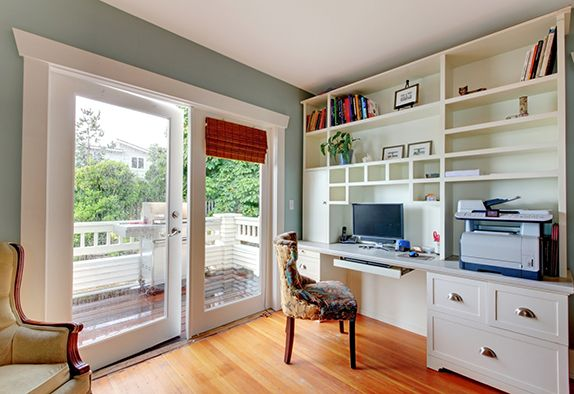 Design an office that inspires you – a place where you enjoy spending your days. Check out The 5 Key Elements of a Productive  Ergonomic Home Office.