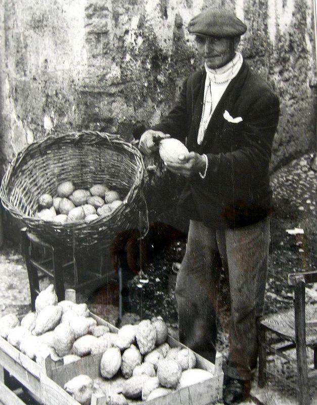 1948 - come eravamo - venditore di cedro - 'u pipitunaru - il cedro: dolce e…