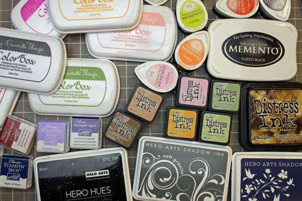 Stamping in paper crafting has really taken off these past few years, and there are more supplies than ever available to keep the stamper busy! It can get confusing to try and determine what type of ink does what, and do you really need a variety of inks on hand or will just one type suit you?