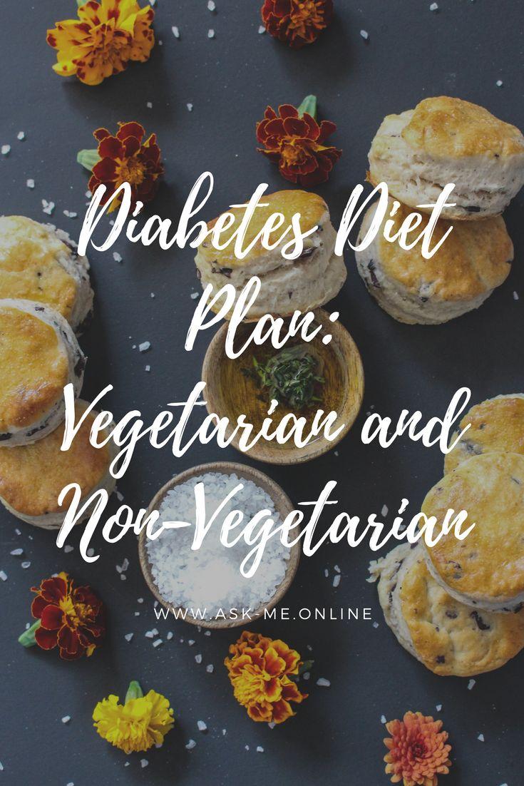 Diabetes Diet Plan: Vegetarian and Non-Vegetarian