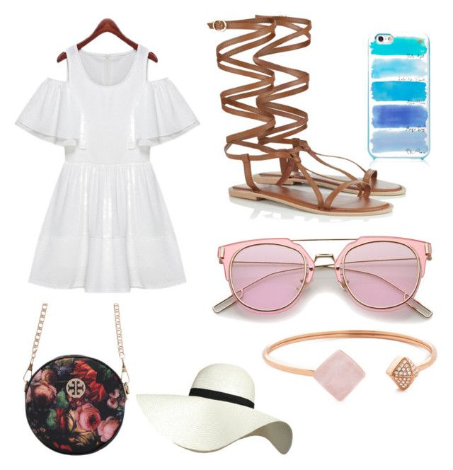 Summer lovin by sophievanderkooy on Polyvore featuring polyvore, Lipsy, Michael Kors, Pilot, Kate Spade, fashion, style and clothing