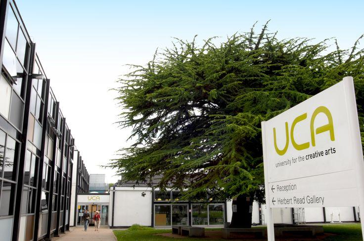 UCA Entrance #Canterbury