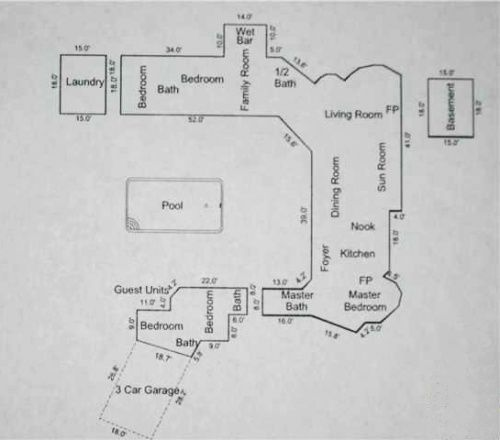 1000 images about plans on pinterest for Paul revere house floor plan