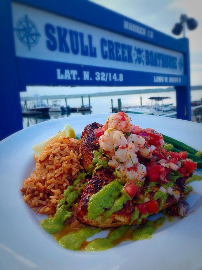 9. Skull Creek Boathouse - Hilton Head Island, SC