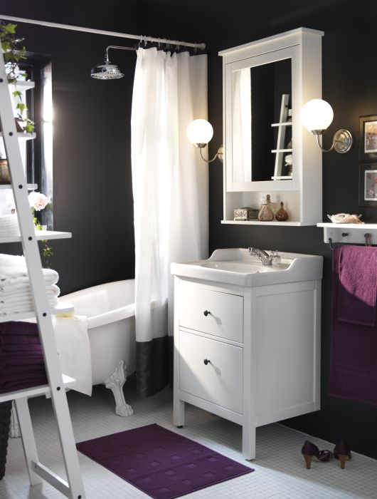 Ikea Hemnes RÄttviken Sink Cabinet With 2 Drawers White In 2018 Home Sweet Pinterest Bathroom And