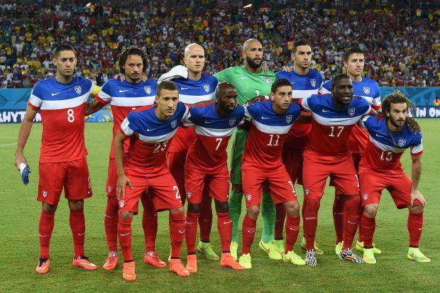 USA soccer team- Brazil 2014